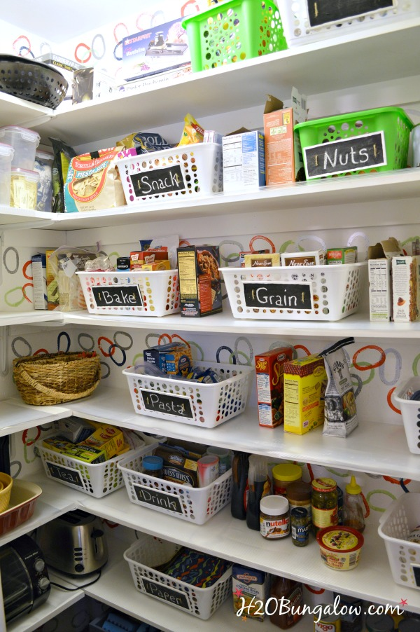 Organize your pantry and get more space for Organization ideas for kitchen pantry