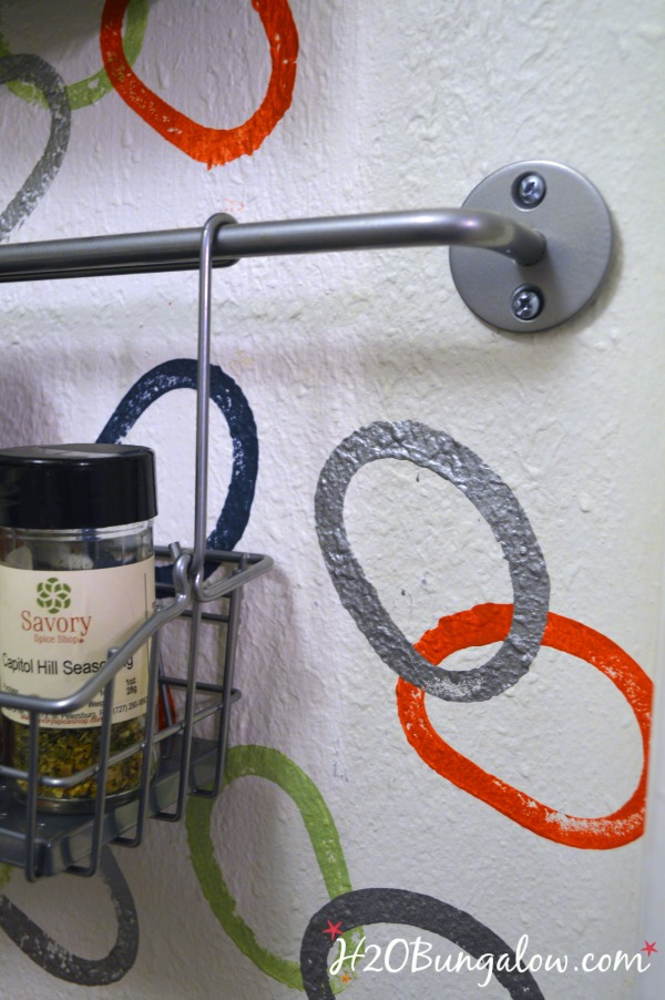 Simple-Ikea-bars-and-hanging-shelves-can-hold-spices-neatly-and-not-use-valuable-shelf-space-H2OBungalow