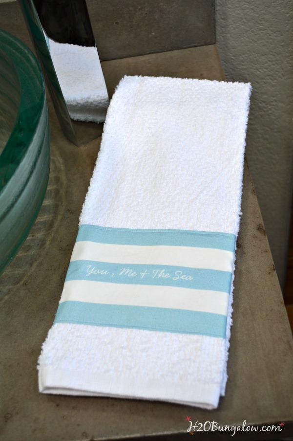 Custom-DIY-towel-with-Zazzle-fabric-H2OBungalow