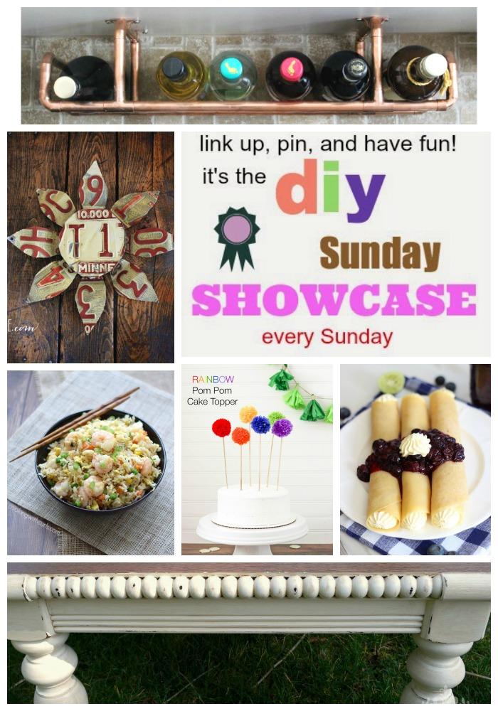 DIY Sunday Showcase Link Party Feb 28