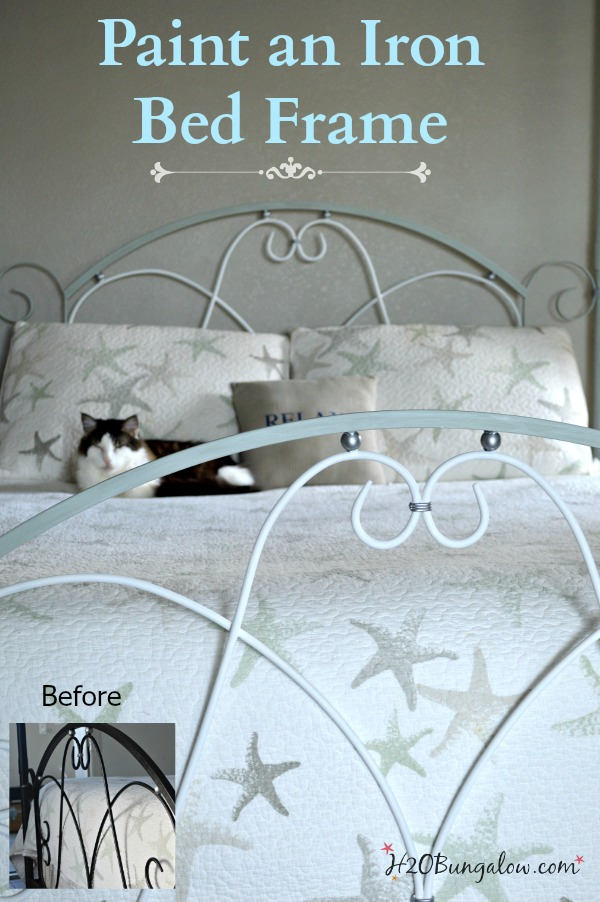 Painting An Iron Bed Frame