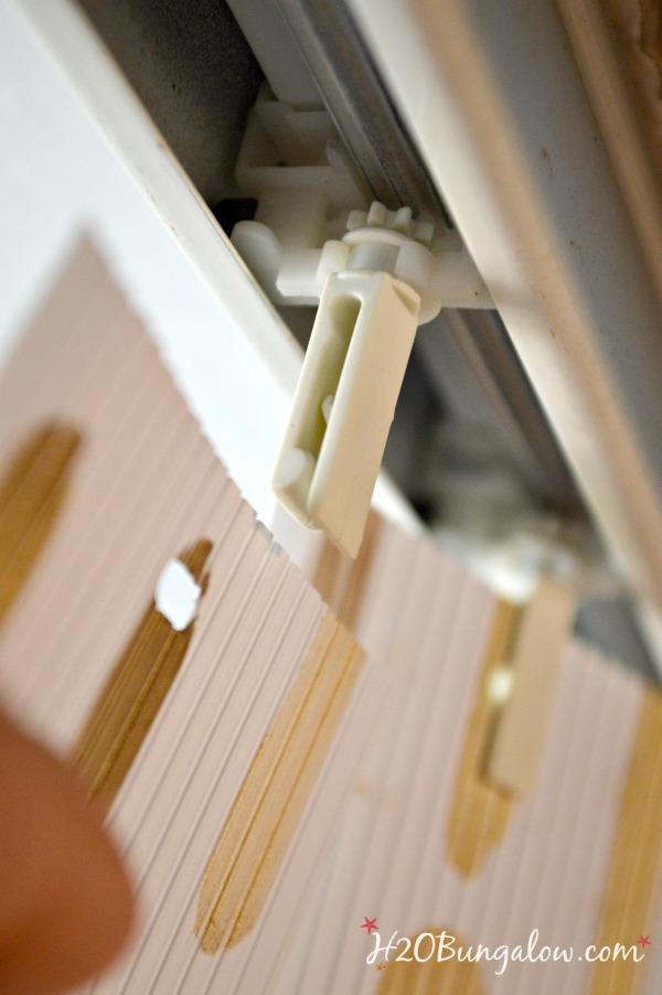 Reinstall-slats-on-vertical-stenciled-blinds-H2OBungalow
