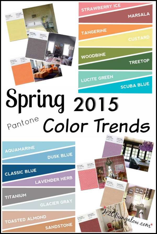 Pantone spring 2015 color trends for Latest trends in home decor 2015