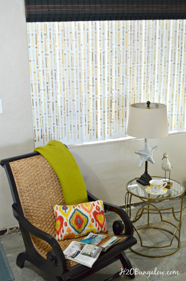 Stenciled-vertical-blind-slats-tutorial-H2OBungalow