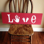 Hand and Footprint Valentine Ideas