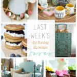 DIY Sunday Showcase and Weekly Wrap Up March 27