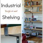 DIY Industrial Shelving
