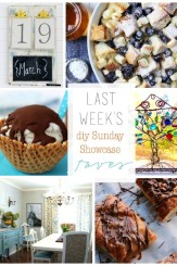 DIY Sunday Showcase Features for April 12.2015