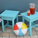Easy DIY Patio Table Plans