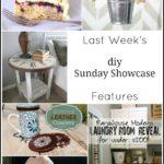DIY Sunday Showcase and Weekly Wrap up {4.15}
