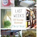 DIY Sunday Showcase and Weekly Wrap Up {5.17}