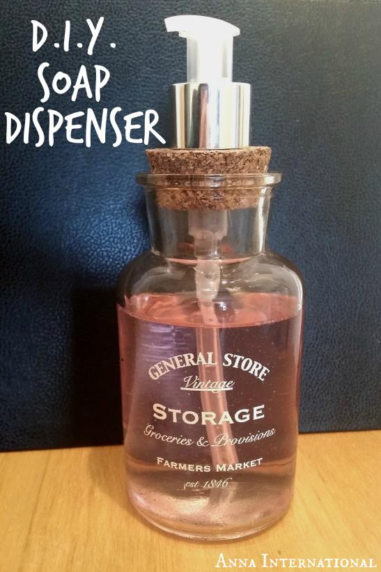 DIY Soap Dispenser