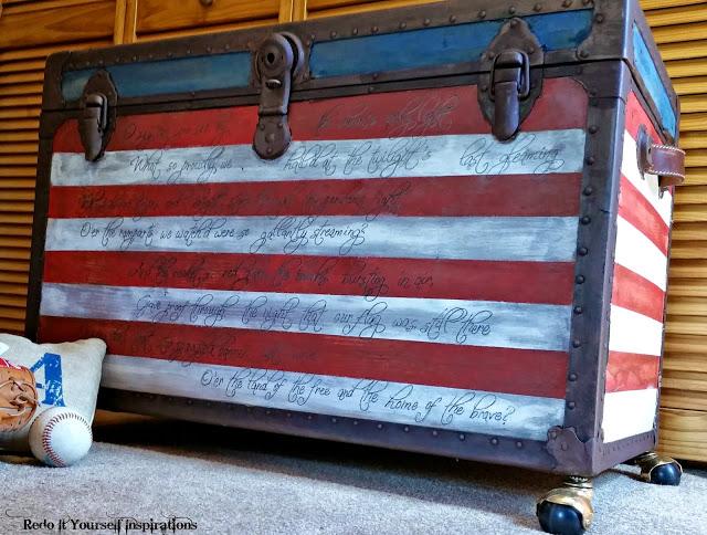 redoits stars and stripes national anthem trunk