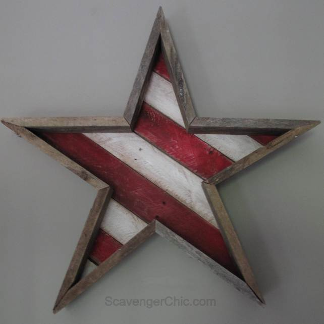 DIY Star wood project