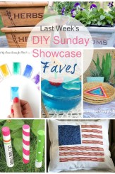 DIY Sunday Showcase Features will inspire you to create the best get together ever. See these and more on H2OBungalow