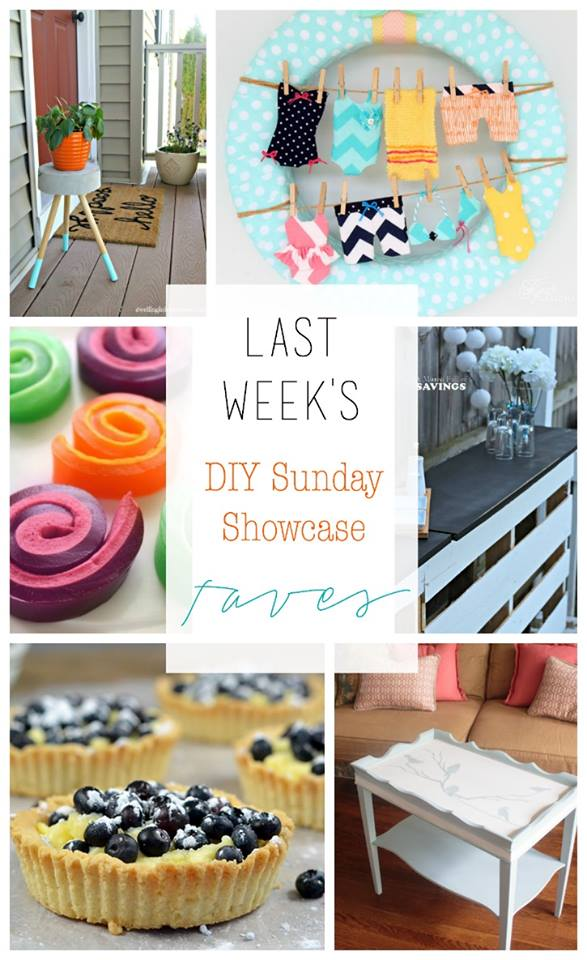Welcome to another week of the DIY Sunday Showcase. We have amazing talent and inspiration for you AND an awesome giveaway! exclusively for readers of H2OBungalow! #giveaway