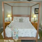 Free Queen Bed Plans and A Ryobi Tool Giveaway