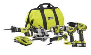 Ryobi Tool Giveaway for the month of June 2015, sign up or sign in to enter by H2OBungalow.com