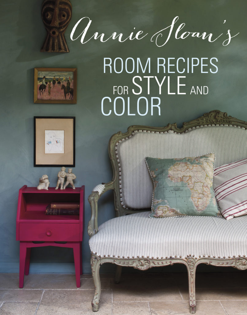 Annie Sloan's Room Recipes For Style and Color book review by H2OBungalow.
