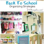 Simple Back to School Organizing Ideas