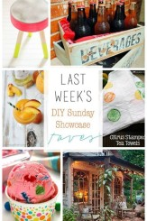 DIY Sunday Showcase and weekly features