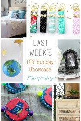 DIY Sunday Showcase weekly features