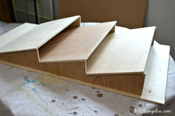 fit parts together to test before gluing the diy easy build wall file folder holder h2obungalow