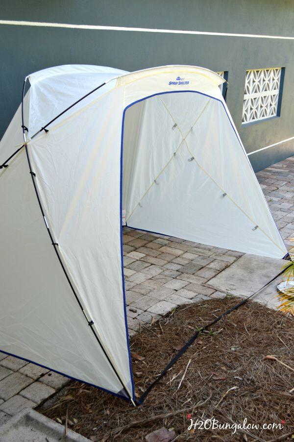 Homeright-paint-shelter-assembles-easily-H2OBungalow