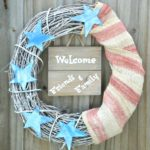 DIY Patriotic Labor Day Wreath