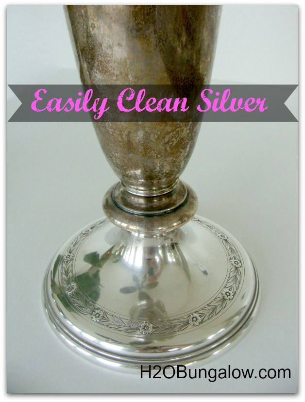 Naturally clean silver wthout stinky chemicals and 9 more awesome DIY tutorials for Earth Day H2OBungalow.com