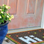 Easy DIY Fall Doormat