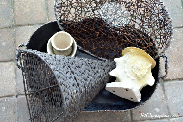 Fall home decor in neutrals H2OBungalow