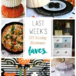 This weeks features for the DIY Sunday Showcase are spectacular! Visit to see this and other fantastic features www.H2OBungalow.com #DIYSundayShowcase
