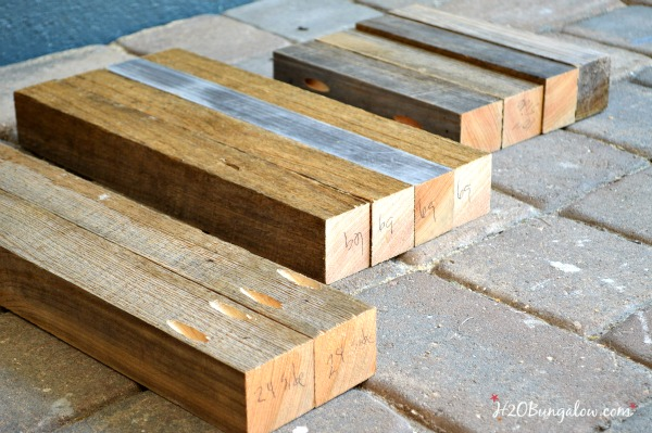 Make a simple DIY wood bench or table. This is a great beginner build project