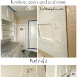 How To Strip Paint Off Kitchen Cabinets and Furniture Part 1 of 2