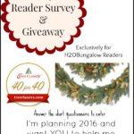 Reader Survey & A Giveaway