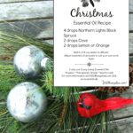 Christmas Essential Oil Recipe With Free Printable