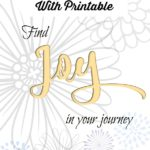Find Joy In Your Journey New Year Printable