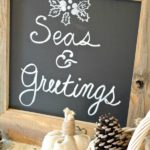 Rustic DIY Chalkboard Great Gift Idea