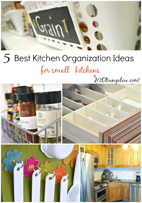 Diy Small Kitchens 5 best kitchen organizing ideas for small spaces - h20bungalow
