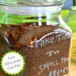 DIY Etched Glass Coffee Station Canisters And The Ultimate Organization Tour