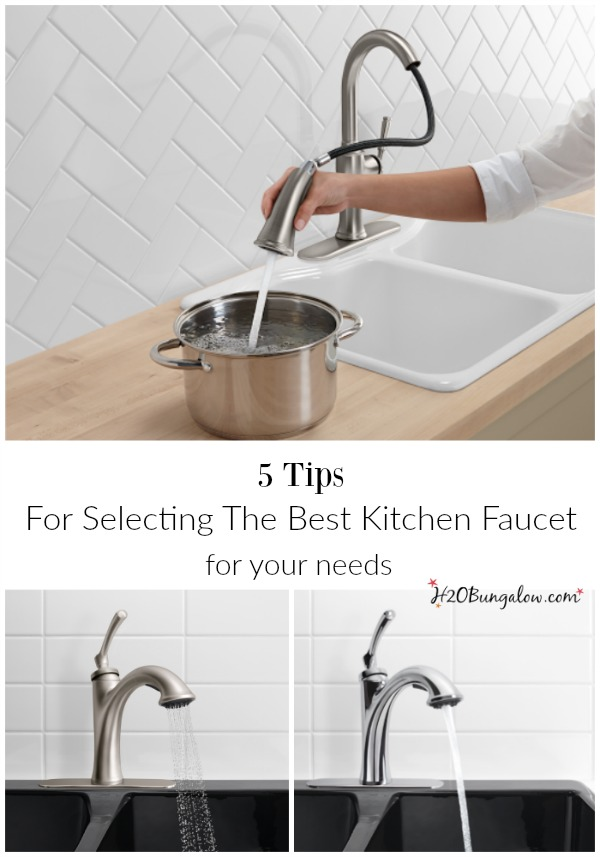Tips For Selecting The Best Kitchen Faucet HBungalow - Best kitchen faucets 2016