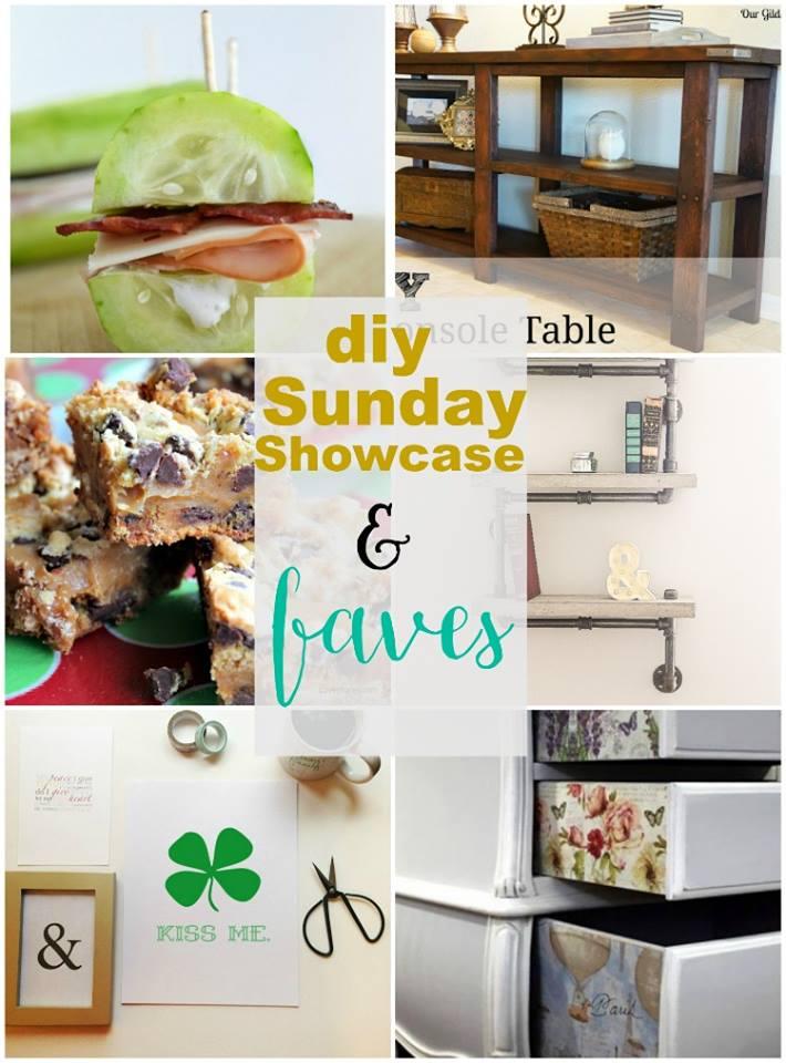 DIY Sunday Showcase Features