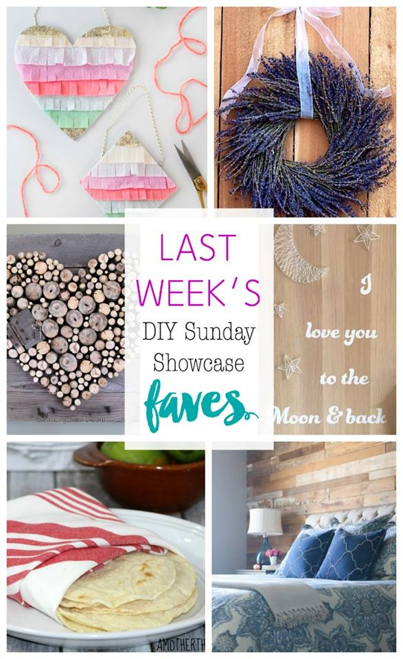 DIY Sunday Showcase features ill inspire you to get your DIY on! www.H2OBungalow.com #DIYSundayShowcase