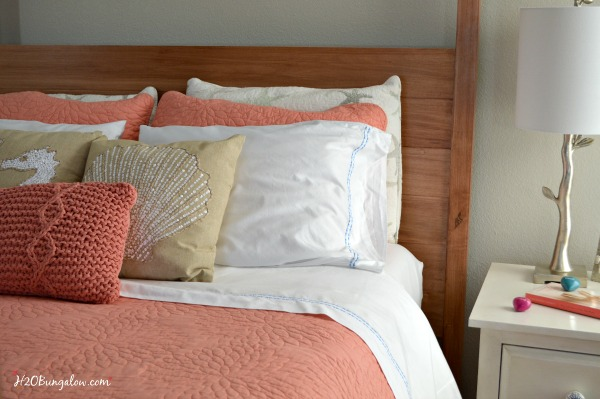 How to layer a bed for style and comfort I'm sharing my secret to copying the same method high end hotels use to make thier beds feels as good as they look! H2OBungalow.com