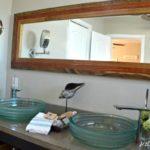Modern DIY Rustic Mirror Frame