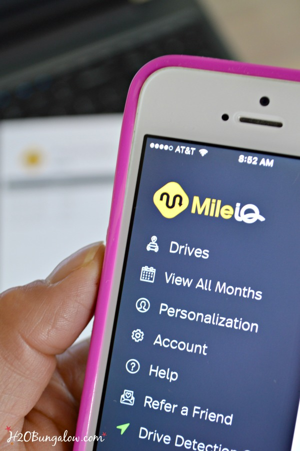 Make trips smarter with MileIQ and track business miles driven easily and quickly start saving today with promo code H2OBungalow