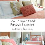 How To Layer A Bed For Style and Comfort