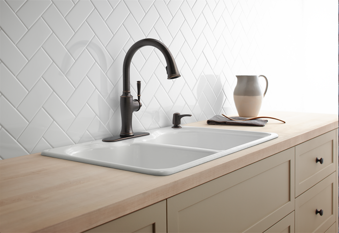5 tips for selecting the best kitchen faucet h20bungalow 5 tips for selecting the best kitchen faucet for your needs has good advice with questions solutioingenieria Image collections