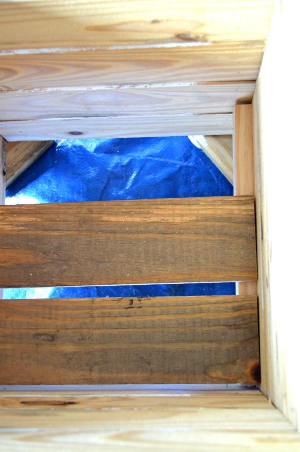 Key west style inspired wood planter box tutorial